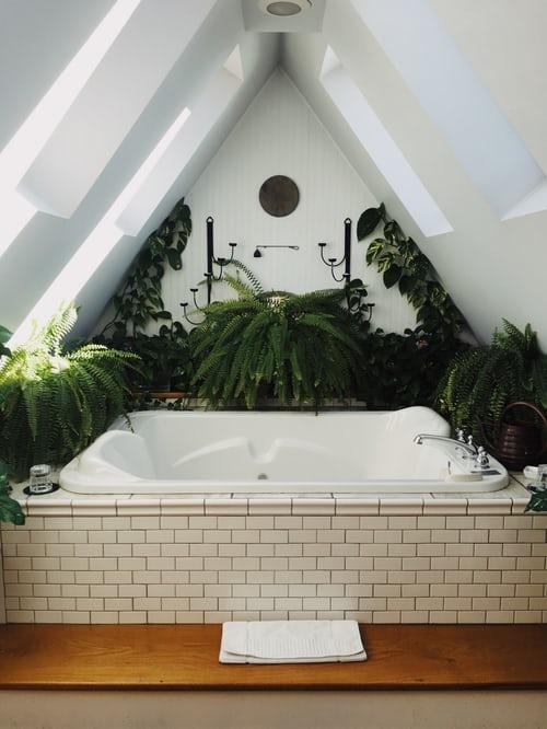 salle de bains que vous ne voudrez plus quitter
